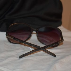 Style Science Bamboo Braid Style Shield Sunglasses
